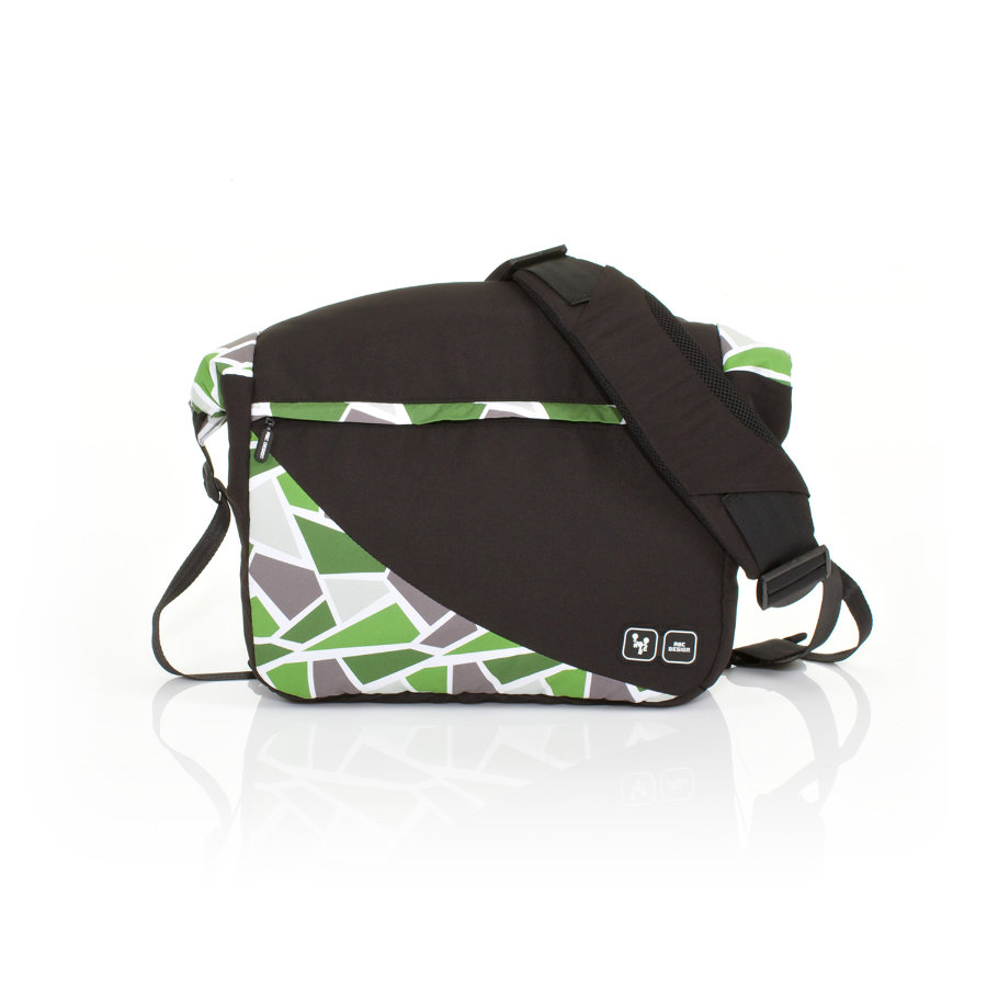 ABC DESIGN Nappy Bag Courier wasabi Collection 2015