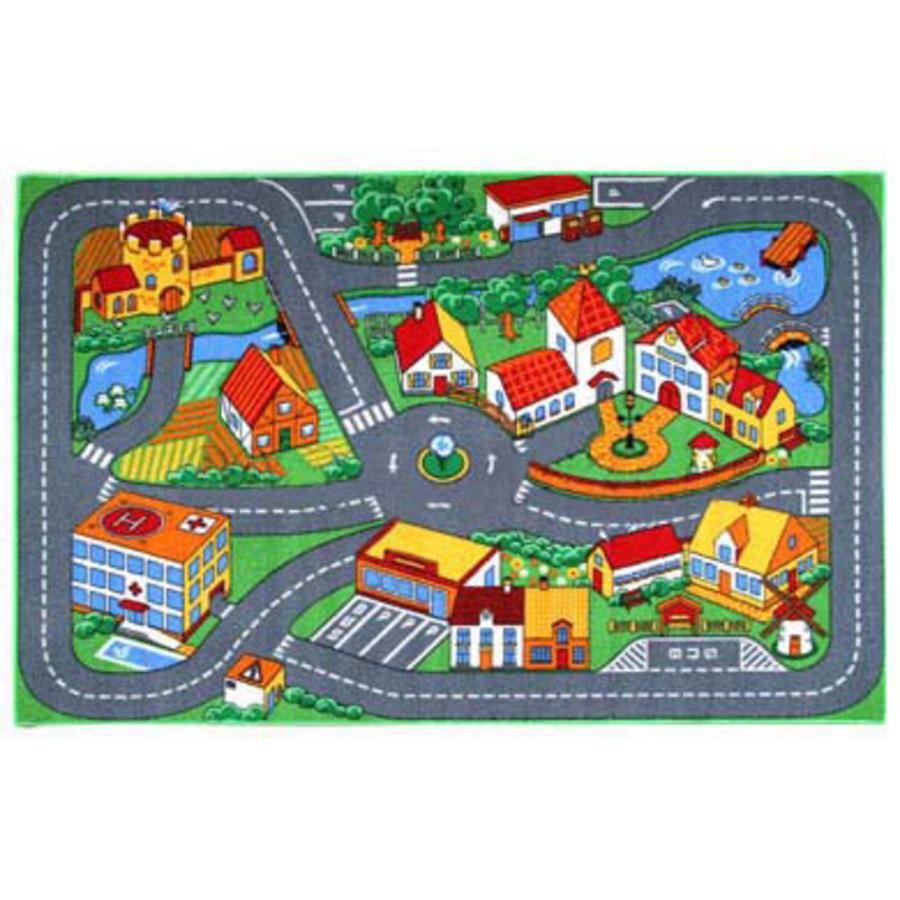 ASSOCIATED WEAVERS Tapis de jeu pour petites voitures Quiet Town 95 x 133 cm