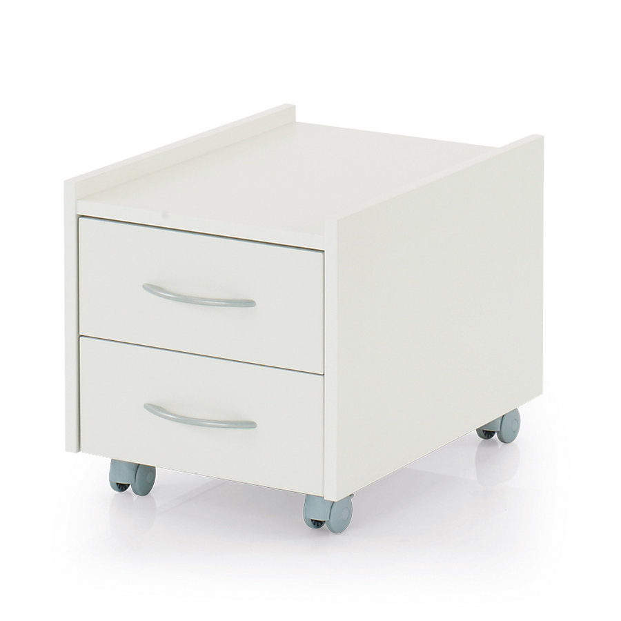 KETTLER Meuble à roulettes Rollbontainer SIT ON, blanc 6763-311