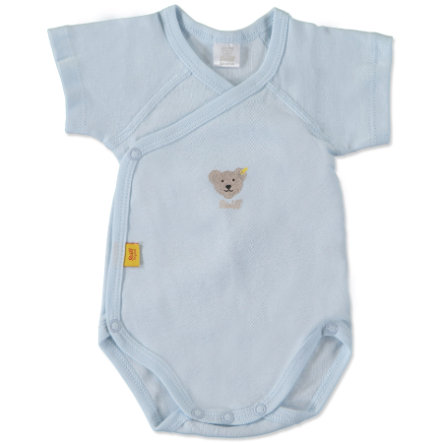STEIFF Baby Omlottbody blue