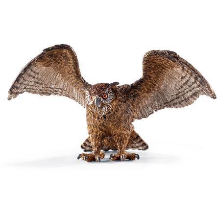Schleich Figurine hibou grand-duc 14738