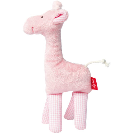 SIGIKID Skallra Giraff - first hugs Organic Collection