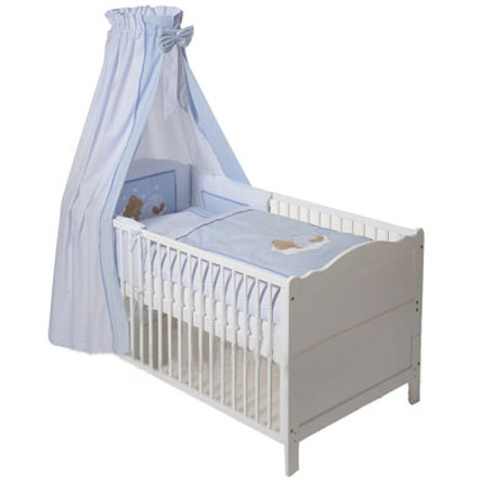 Easy Baby Komplettset Sleeping bear blue (400-81)