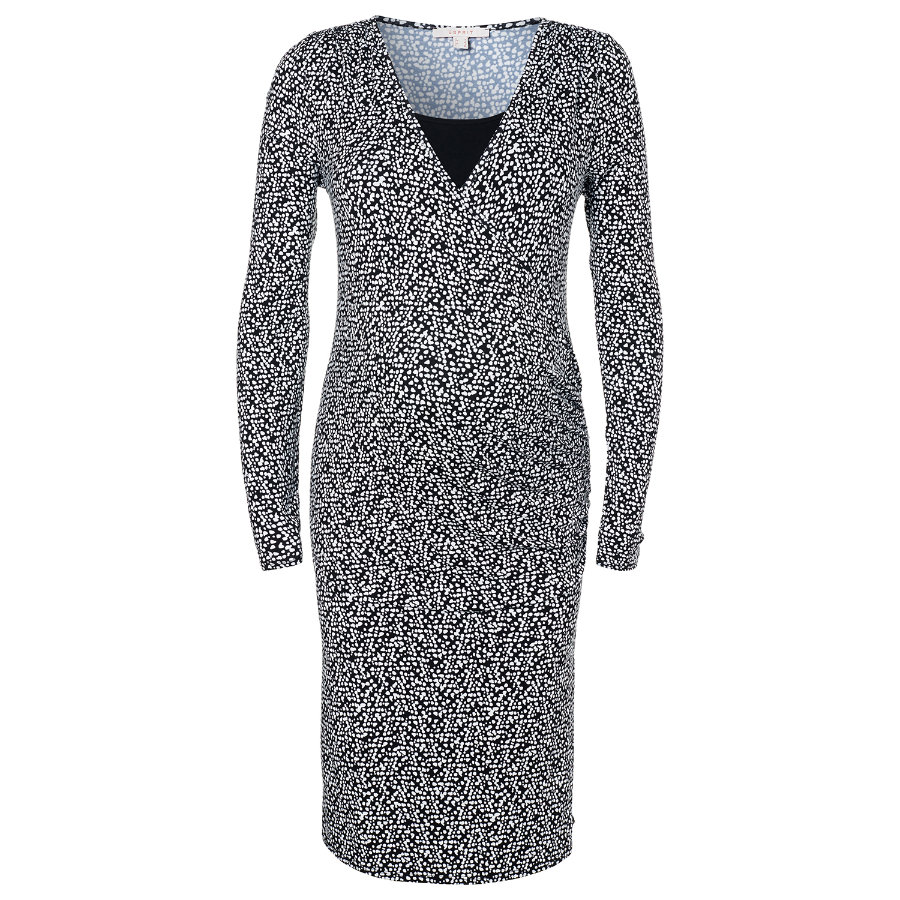 ESPRIT Umstands Still-Kleid black aop