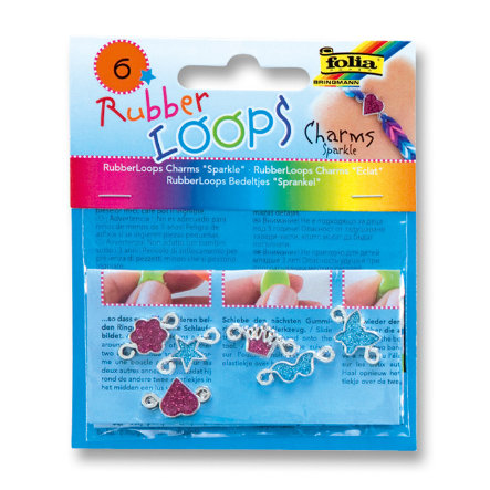 FOLIA Rubber Loops® - Charms SPARKLE