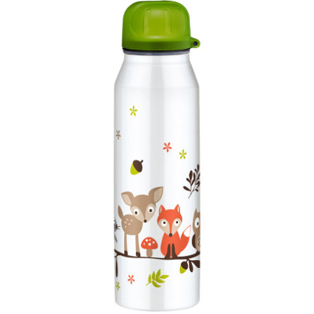 ALFI Flaska IsoBottle II av rostfritt stål, 0,5l Design Forest Animals