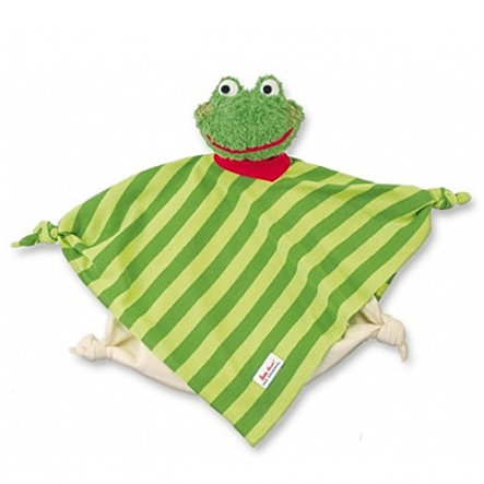 KÄTHE KRUSE šátek na mazlení žába 2