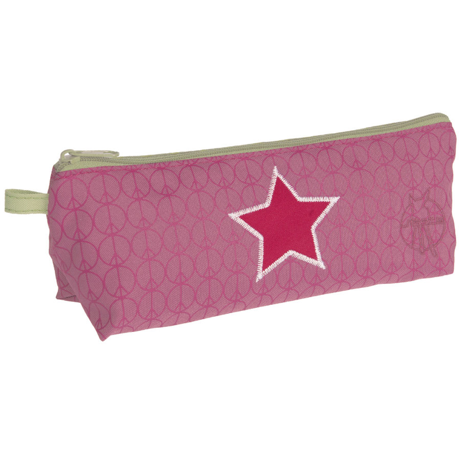LÄSSIG Mini Etui Pencil Case Starlight Magenta