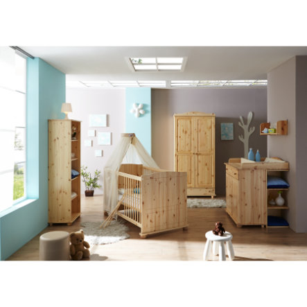 ticaa babyzimmer adam 5 teilig kiefer massiv natur. Black Bedroom Furniture Sets. Home Design Ideas