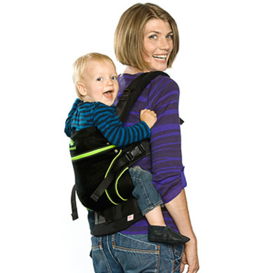 MANDUCA Baby Carrier BlackLine ScreaminGreen
