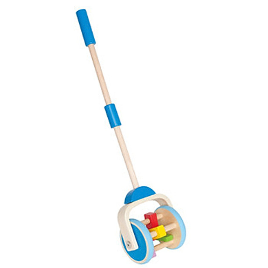 HAPE Push-along Toy Lawn Mower