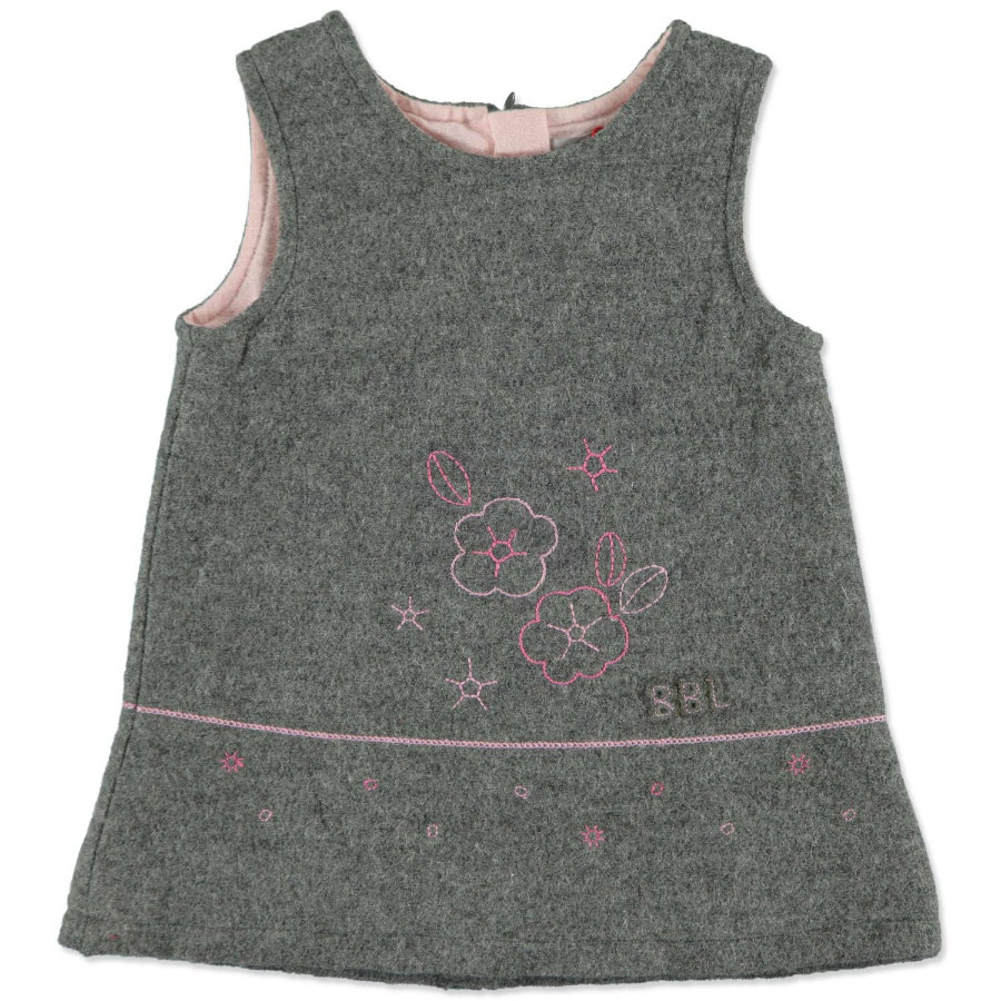 BOBOLI Girls Kleid ohne Arm grey melange