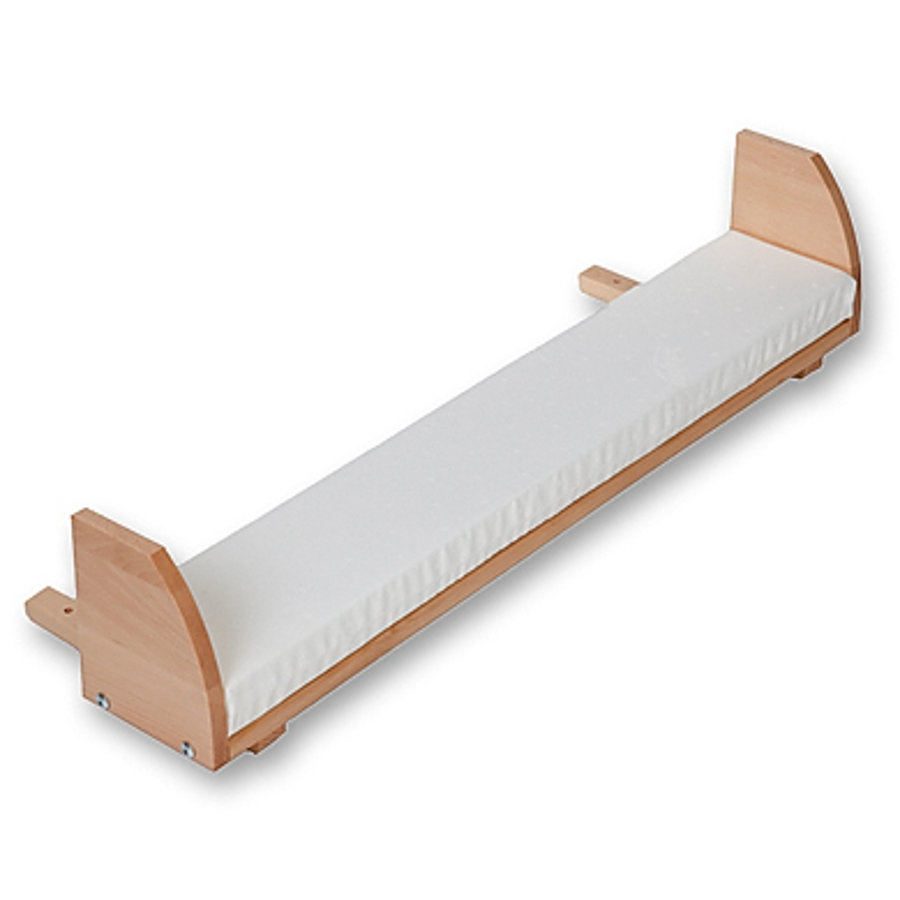 TOBI Babybay Prolongación de cuna Maxi / Boxspring madera natural