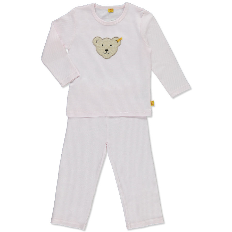 STEIFF Girls Mini Pyjama 2-delig barely pink