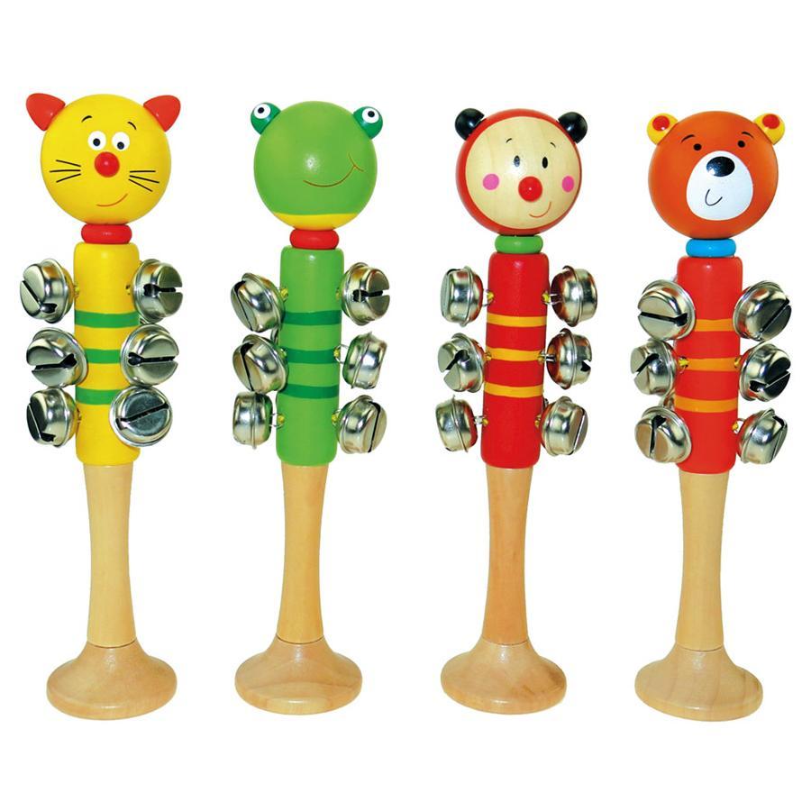 BINO Hudební hůlka s 9 rolničkami