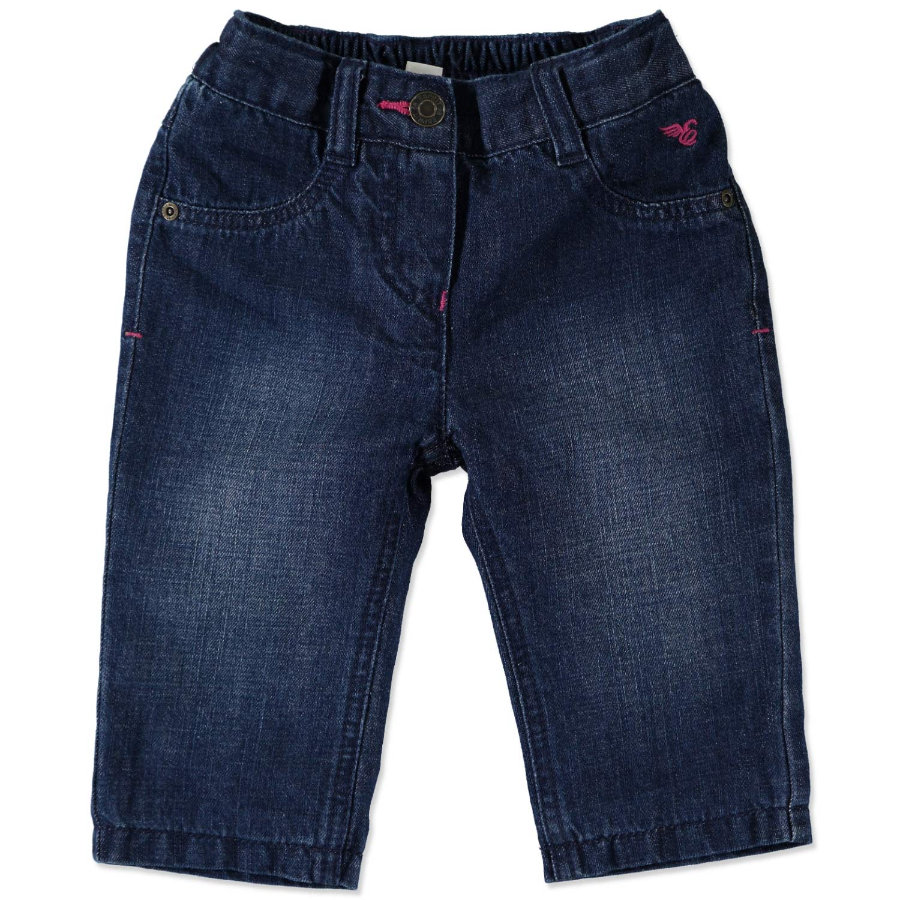 ESPRIT Girls Baby Jeanshose superdark denim
