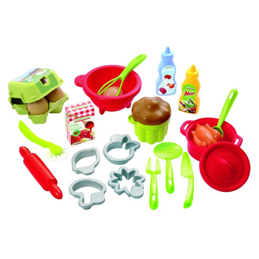 ECOIFFIER Cukrářský set 100% Chef tečkovaný s 26 doplňky 26 dílů