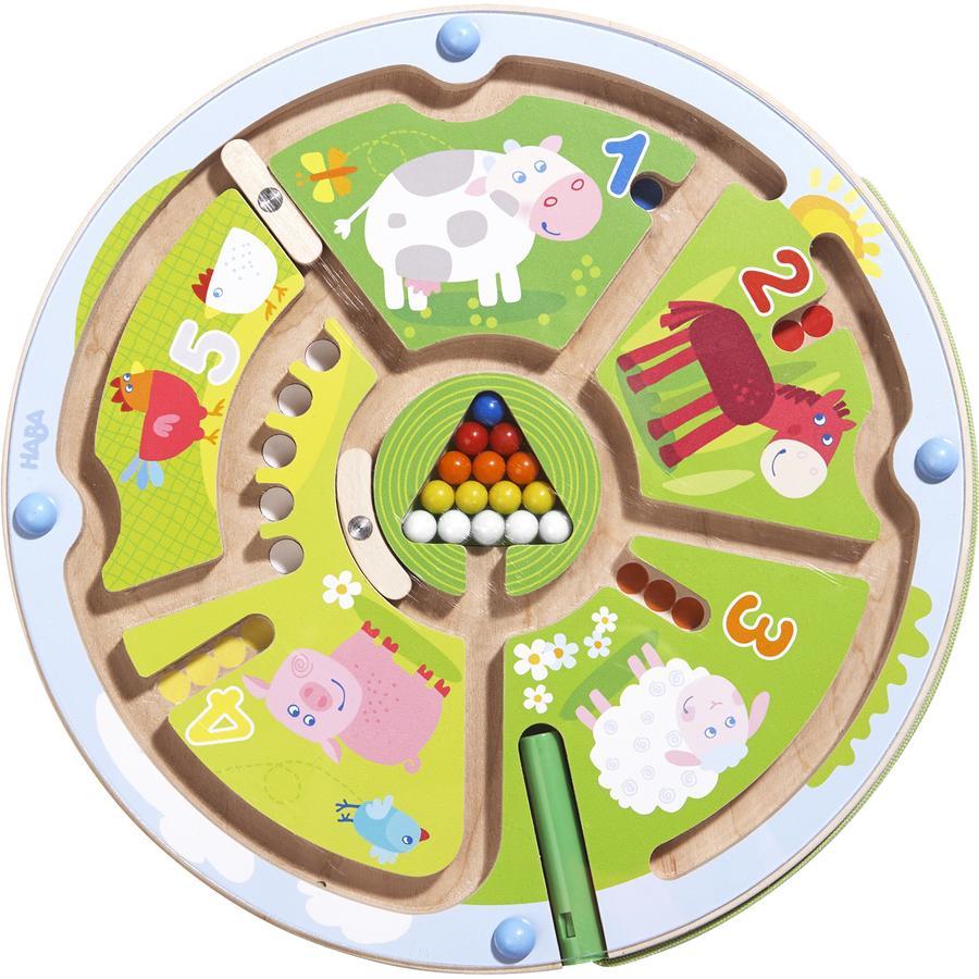 HABA Magnetyczna zabawka Labirynt cyferek 301473