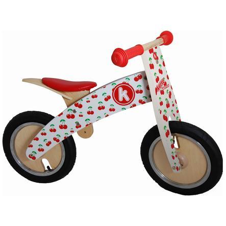kiddimoto® Premium Springcykel - Körsbär