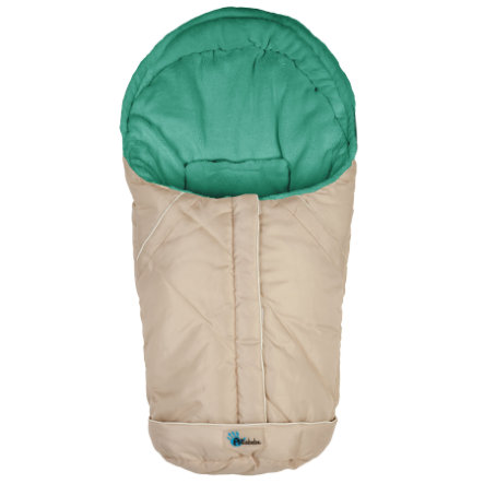 ALTA BÉBE Infant Seat Winter Footmuff VOYAGER (AL2003) beige/petrol, 2013/2014 collection