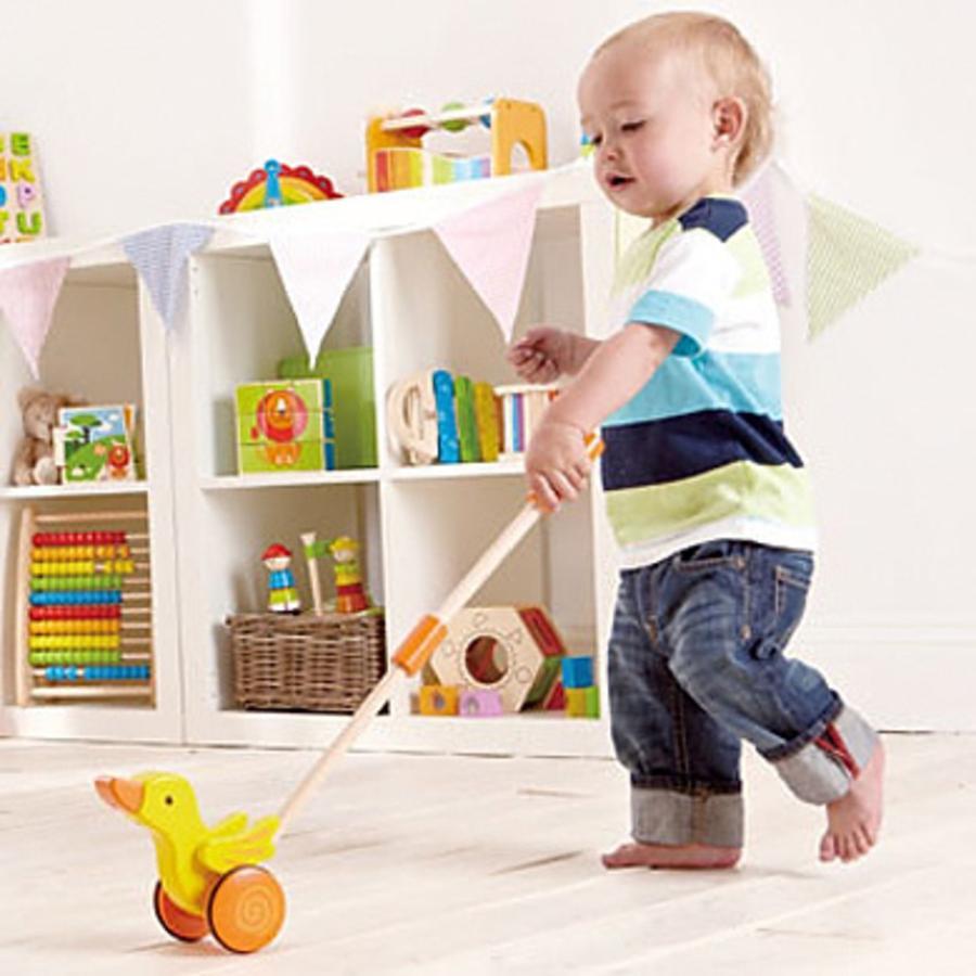Hape Schiebespielzeug Ente