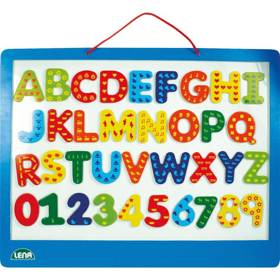 LENA dřevěná magnetická tabule