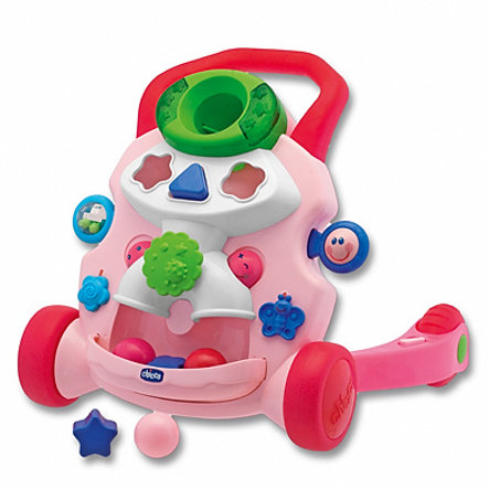 chicco  2 in 1 Mobil rosa