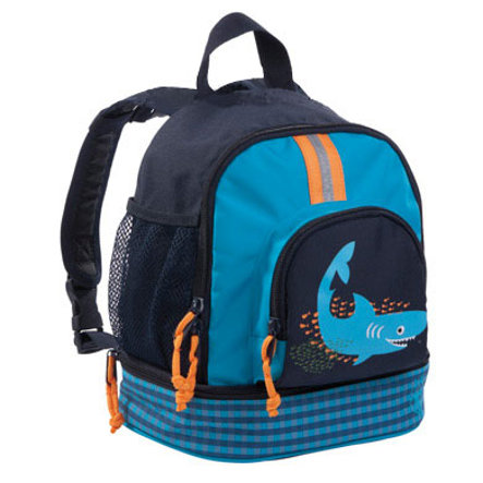 LÄSSIG Mini Sac à dos Backpack Shark ocean