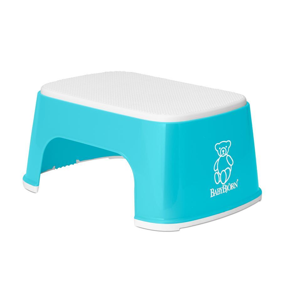 BABYBJÖRN Non-Slip Step Stool Turquoise