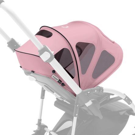 bugaboo Breezy Bee 5 solkalesje med luftevindu Soft Pink - Core Collection