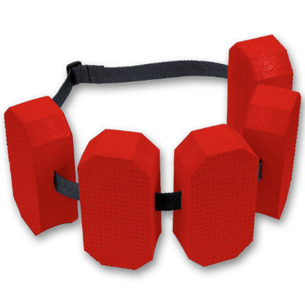 vedes Bouée ceinture garçon 5 briques, rouge