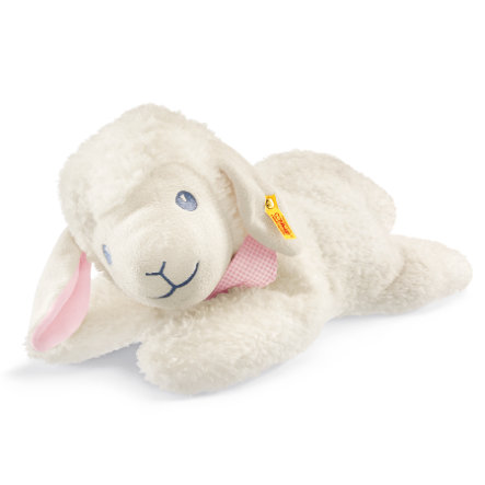 STEIFF Sladká ovečka, ležící, růžová 48cm