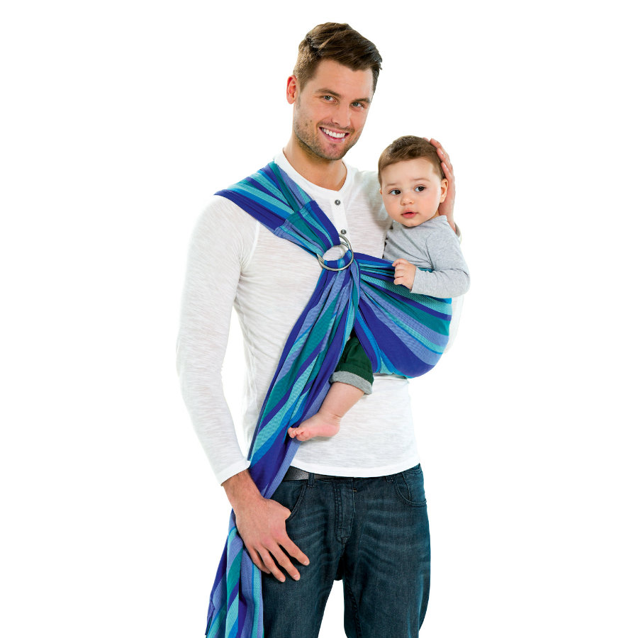 AMAZONAS Baby Carrier Ring Sling Laguna small 180cm