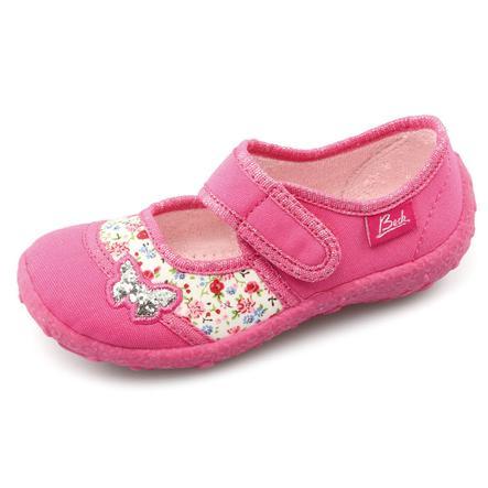 BECK Girl s pantoffels PAPILLON roze