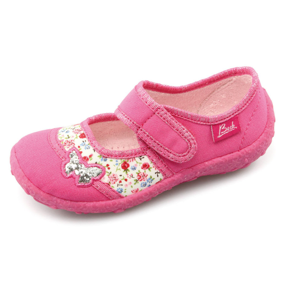 BECK Girls Kapcie PAPILLON pink