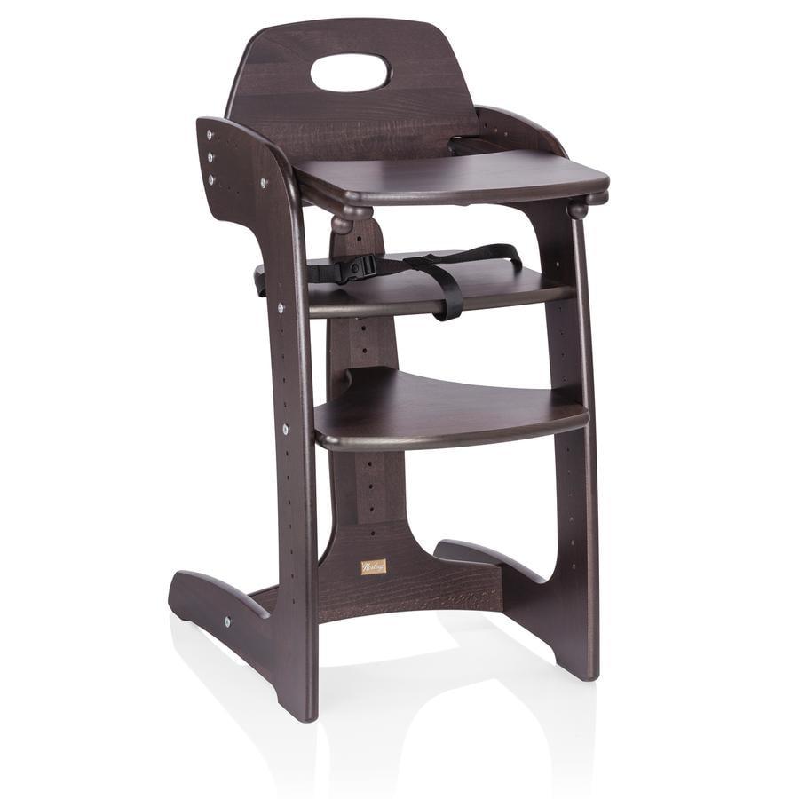 HERLAG Chaise-haute Tipp Topp Comfort IV marron