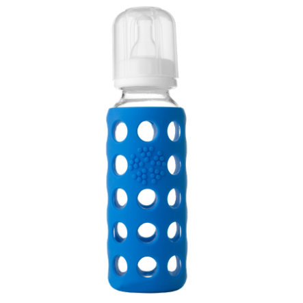 "LIFEFACTORY Skleněná lahvička ""ocean"" 260 ml"