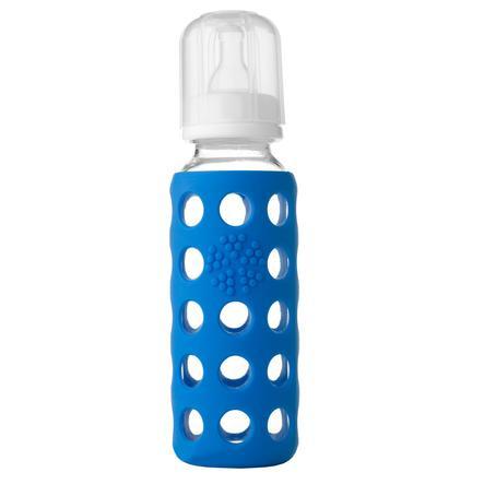 Lifefactory Szklana butelka 260ml ocean