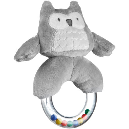 KIDS CONCEPT Rattle Ring, Pumpkin grey