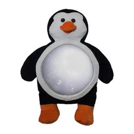 Miyali LUCA Spiegel für Autobabysitze Design Pinguin