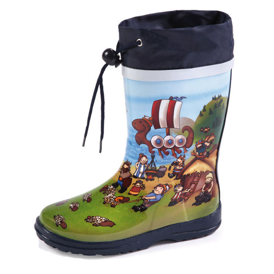 BECK Boys Kalosze WIKING multicolor