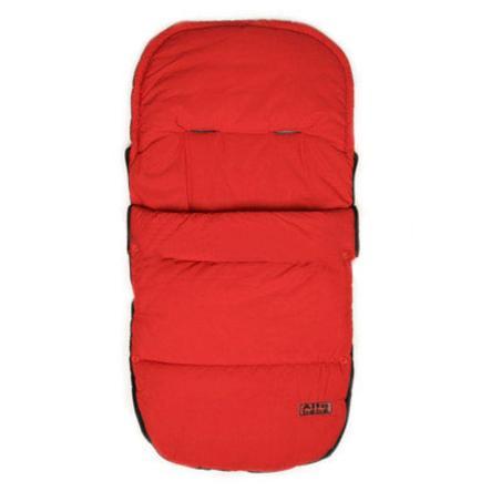 Altabebe Sommer-Fußsack Outline mit ABS rot