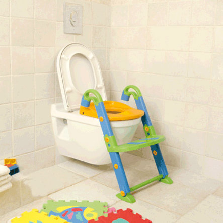 ROTHO Kidskit Toilet Trainer 3-in-1, colourful