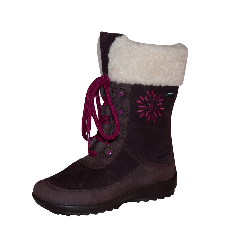 CLARKS Girls Bottes ARLINA SKY brown