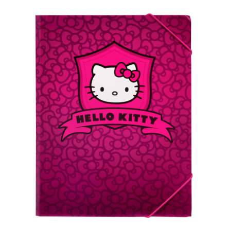 Hello Kitty Gummizugmappe A4