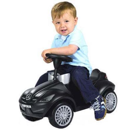 BIG SLK Bobby-Benz III med tystgående hjul