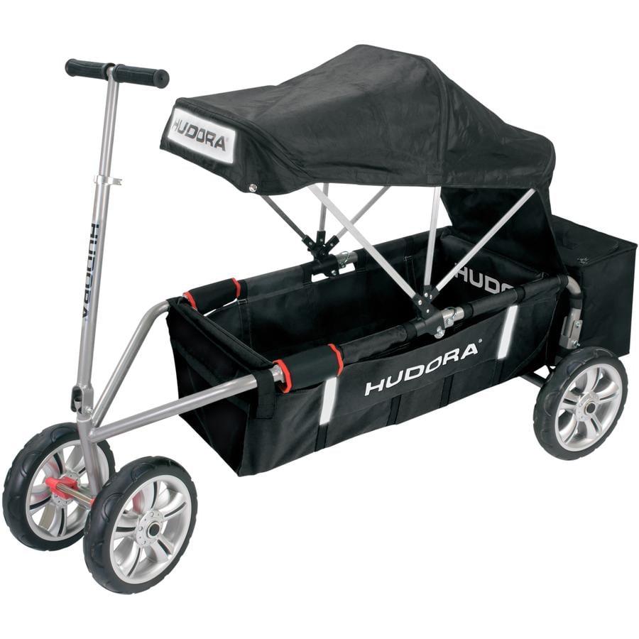 "HUDORA Chariot de transport à main tout-terrain compact alu 12"", noir 10325"