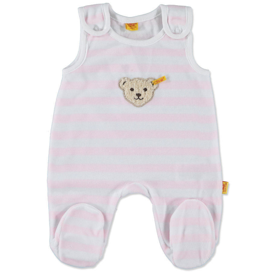 steiff Girls Nicki Stramplerset 2-teilig barely pink