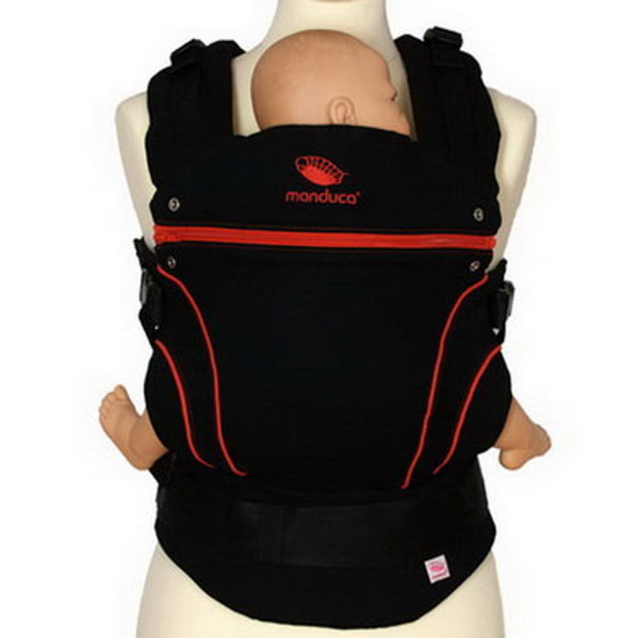 MANDUCA Baby Carrier BlackLine RadicalRed