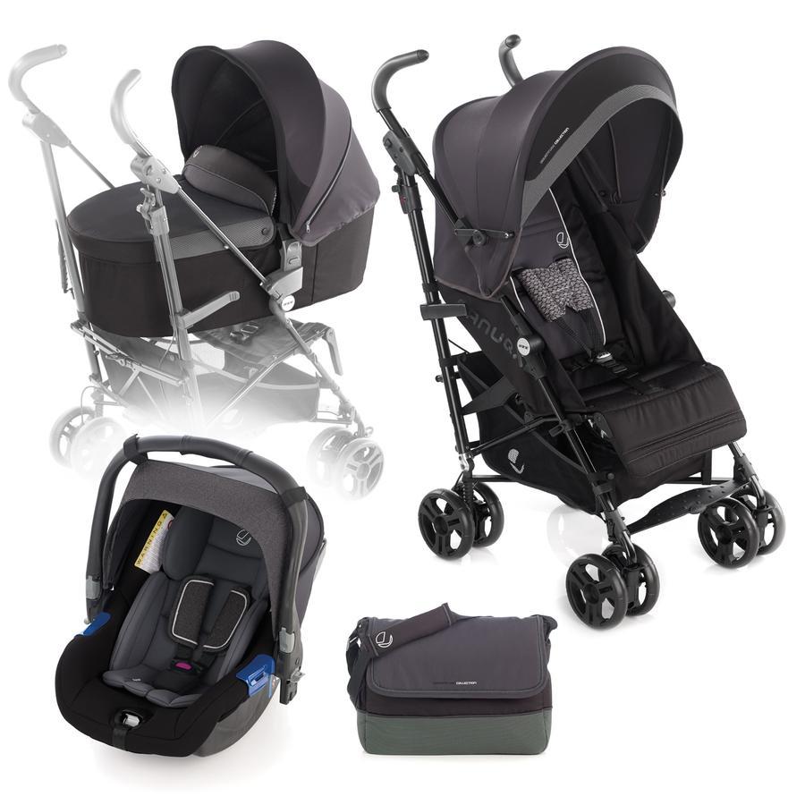 JANE Buggy Nanuq XL inkl. Babyschale Koos und Tragewanne Nano Cloud